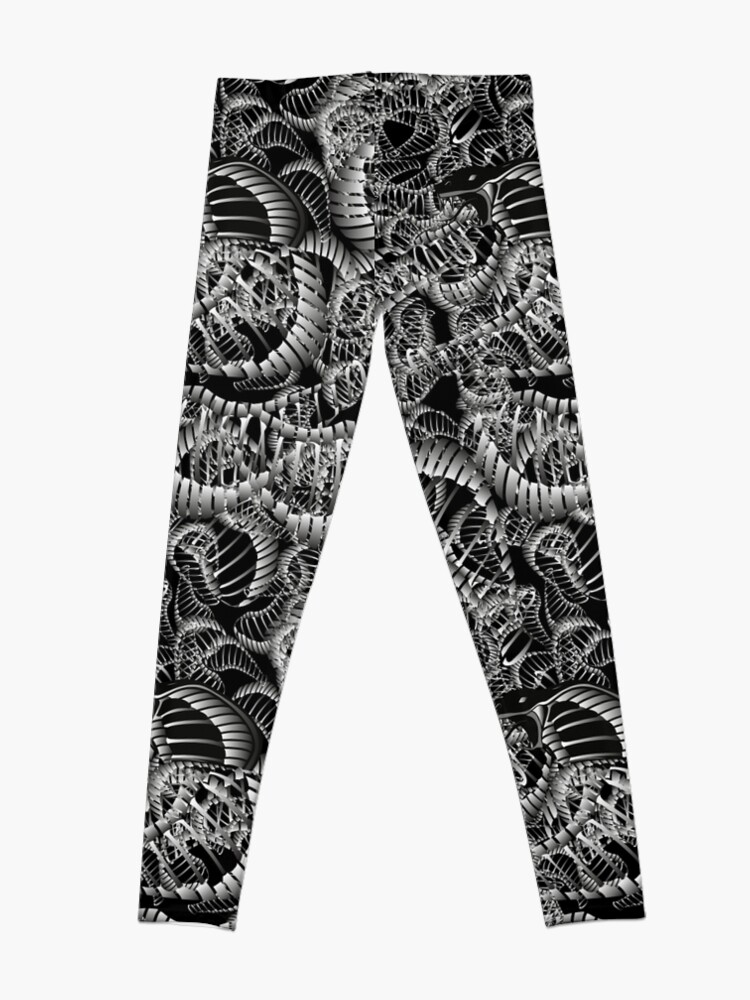 Alternate view of Cobra Snake Abstract Leggings