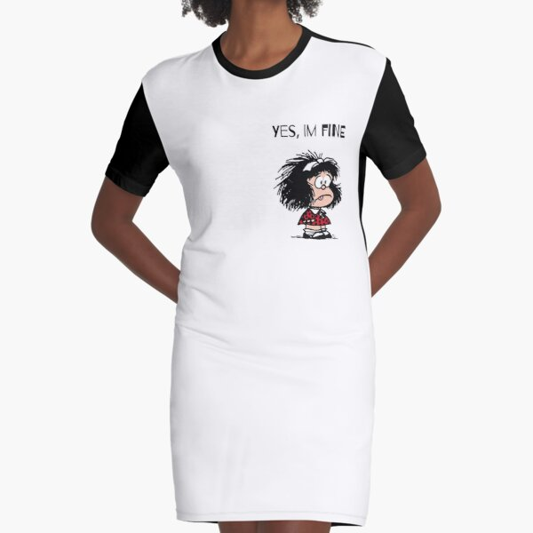 Mad Mafalda Graphic T-Shirt Dress