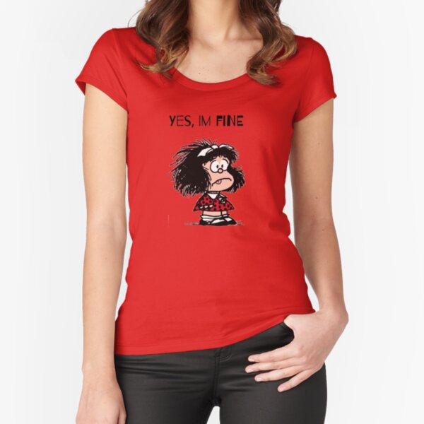 Fou mafalda T-shirt échancré
