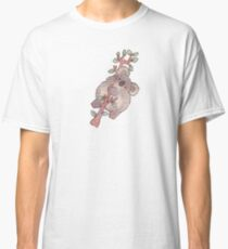 Chubby Koala on a Tree - Australian Wildlife Classic T-Shirt