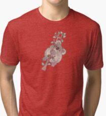 Chubby Koala Tri-blend T-Shirt