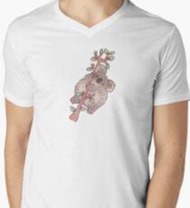 Camiseta para hombre de cuello en v Koala gordita