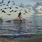 Schädel-Insel von Syd Baker