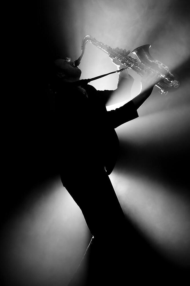 Smokin' Sax by Mark Elshout