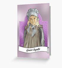Little Grace Ingalls Carte de vœux