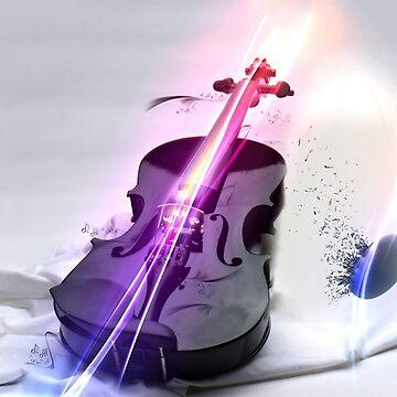 Violin Samsung Galaxy s3-snap by Ilovebronys