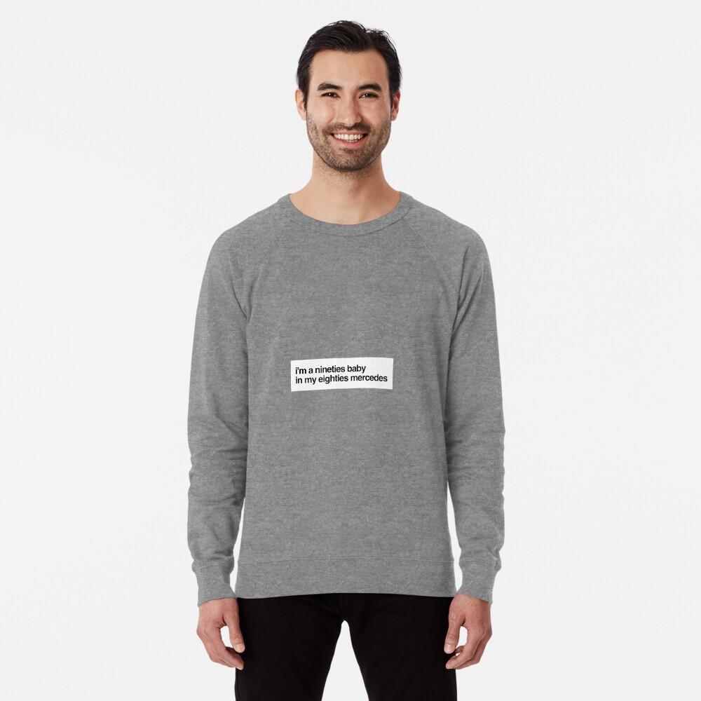 eighties mercedes Lightweight Sweatshirt