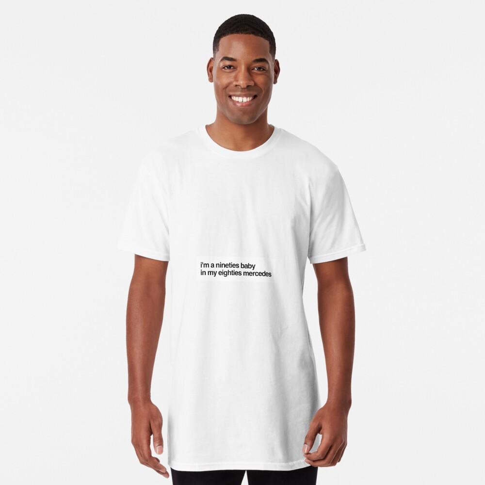 eighties mercedes Long T-Shirt