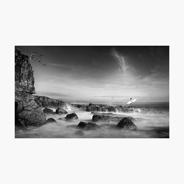 Noosa Surfer Girl Photographic Print