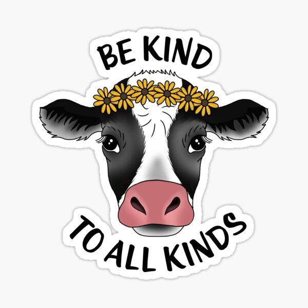 Cow sticker Sticker