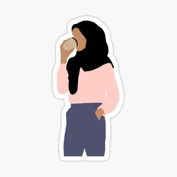 Hijabi sticker Sticker