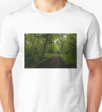 Summer Forest Tranquility - Beautiful Charlevoix, Quebec, Canada T-Shirt