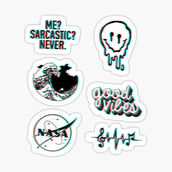 Trippy Pack Sticker