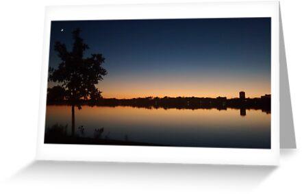 Minnesota-Sonnenuntergang von Annahalle Miller