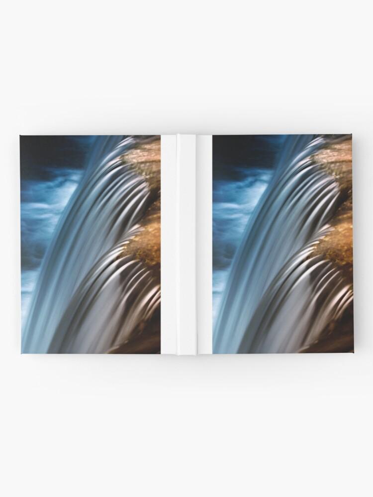 Alternate view of waterfall4 Hardcover Journal