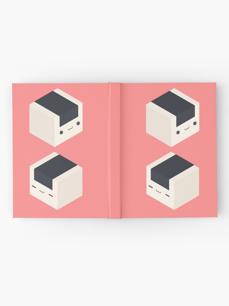 Alternate view of Onigiri Cubes - Rice balls Hardcover Journal