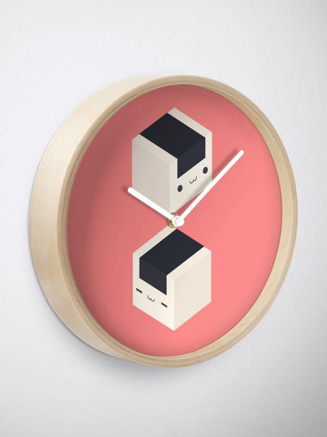 Alternate view of Onigiri Cubes - Rice balls Clock