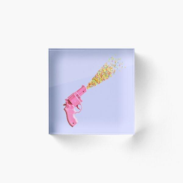 Candy Pistol Acrylic Block
