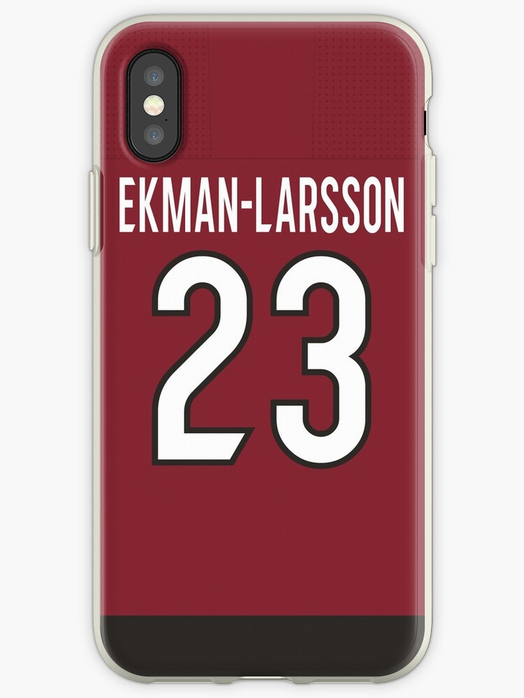 reputable site b4d36 7f9bf 'Arizona Coyotes Oliver Ekman-Larsson Home Jersey Back Phone Case' iPhone  Case by IAmAlexaJericho