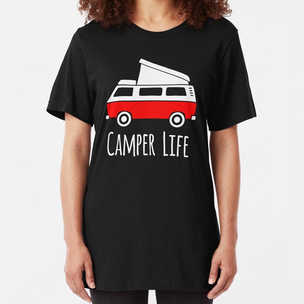 Camper Life Camiseta ajustada