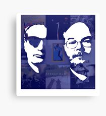 Steely Duo Canvas Print