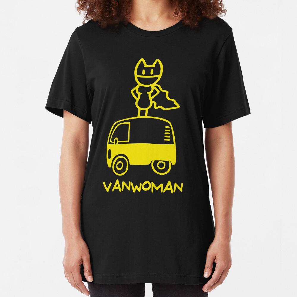Vanwoman Camiseta ajustada
