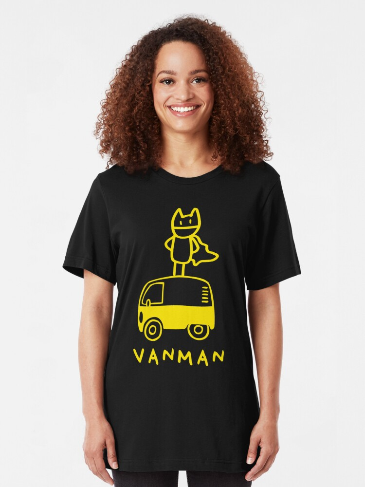 Vista alternativa de Camiseta ajustada Vanman