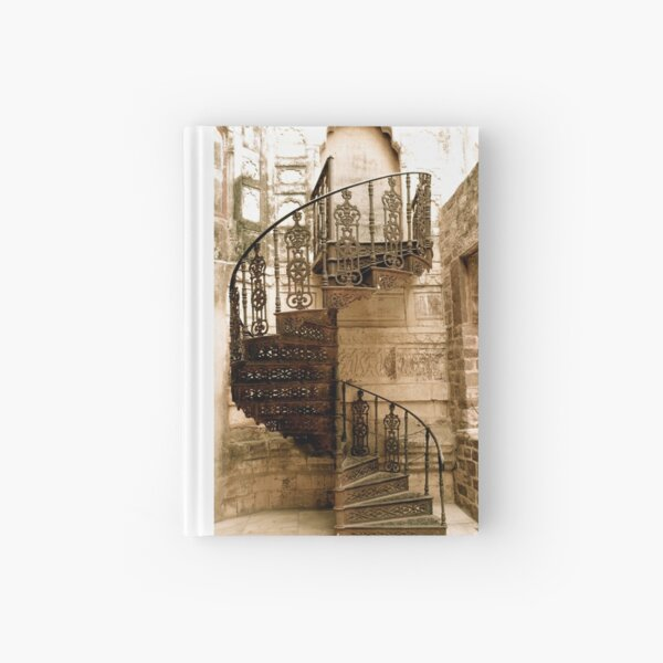 going up  Hardcover Journal