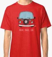 Camiseta clásica Dream, Travel, Love