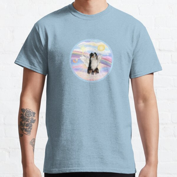 Australian Shepherd (tri color) in Heavens Clouds Classic T-Shirt