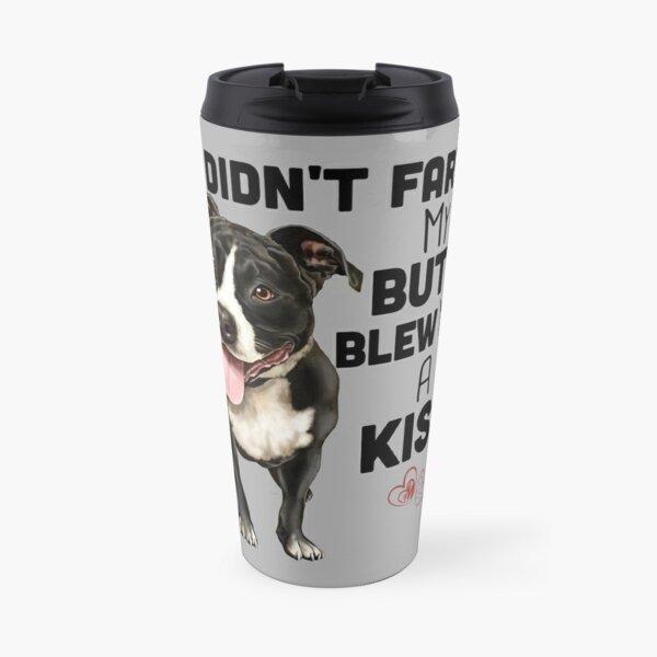 Pit Bull Gifts, Pitbull gifts, Pit Bull Dog shirts, mugs, Pit bull art Travel Mug