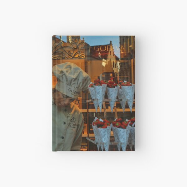 The chocolate maker Hardcover Journal
