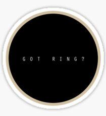 Got Ring? Sticker