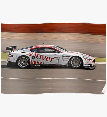 Young Driver AMR Aston Martin DB9 Poster
