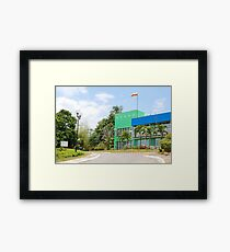 mmldc residential hall, antipolo, philippines Framed Print