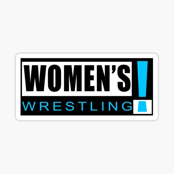 Women's Wrestling! Sticker