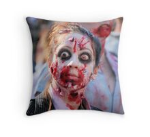 Zombie Shuffle Throw Pillow