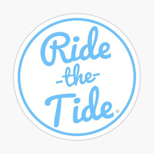 RIDE THE TIDE POCKET DESIGN Shirts Sticker