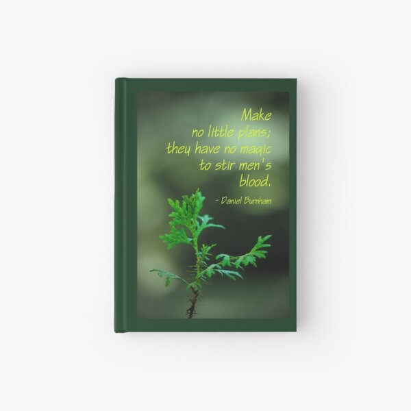 No Little Plans (card) Hardcover Journal