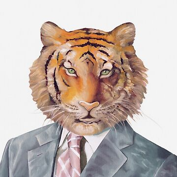Tiger in Armani by AnimalCrew