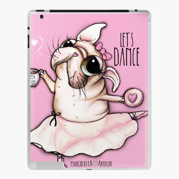 French Bulldog dancer, tea time iPad Skin