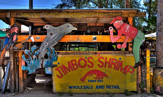 Jimbo's Shrimp Shack by Bill Wetmore