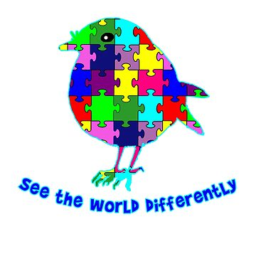 See the World Differently Autism Awareness by Greenbaby