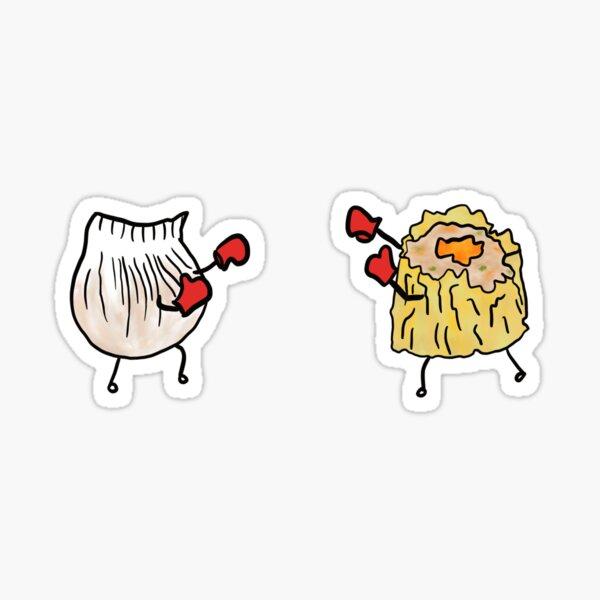 Ultimate Dumpling Boxing Battle Sticker