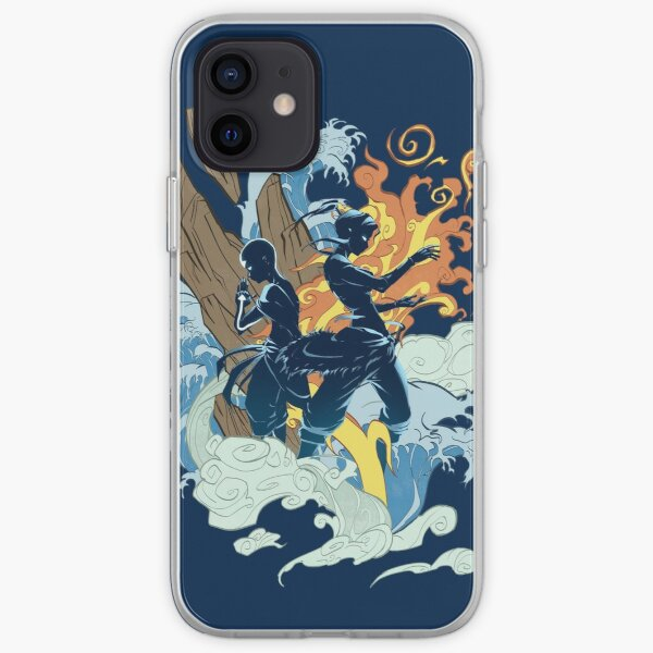 Two Avatars iPhone Soft Case