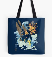Two Avatars Tote Bag
