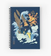 Two Avatars Spiral Notebook