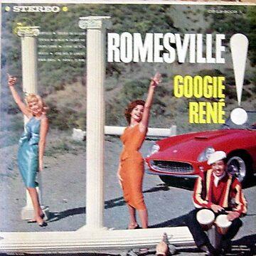 Romesville!, Beatnik, bongos, Italy, sportscar, racecar, pillars, models by Vintaged