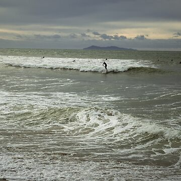 Mt Maunganui Surfer by urbanfragments