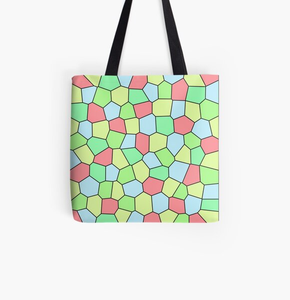 Mosaic 2015-05-01 D All Over Print Tote Bag